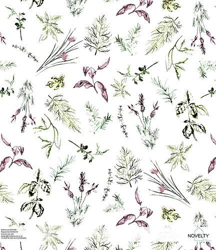 NHF086 Watercolour Herbs