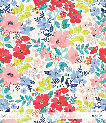 CLAN115 Graphic Floral