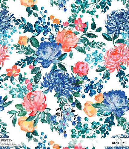 LAUE025 multi colour roses