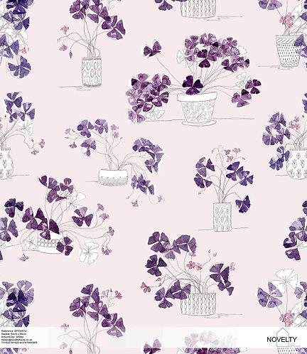 DPOW012 Violet posy