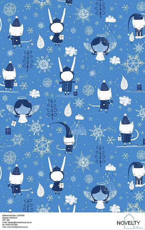 LUAT035 Snowflakes & Raindrops