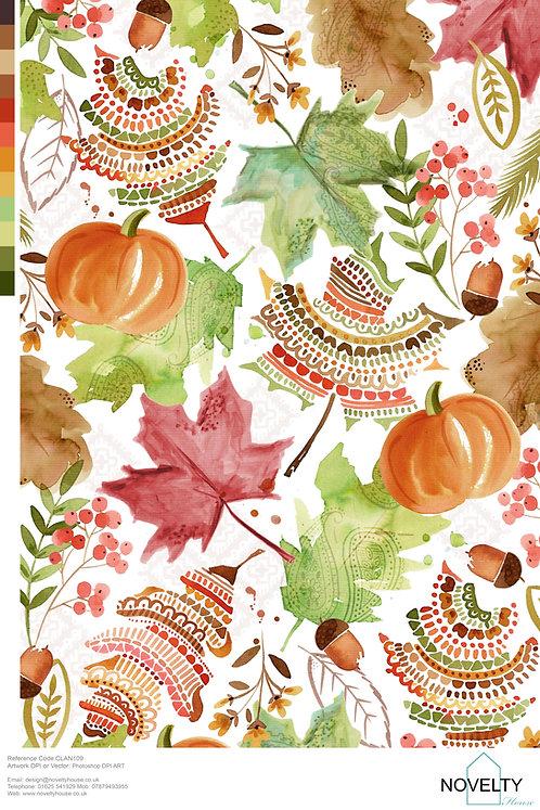 CLAN109 Autumn Leaves