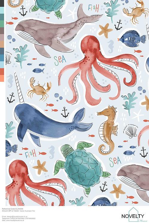 CLAN058 Sea Creatures