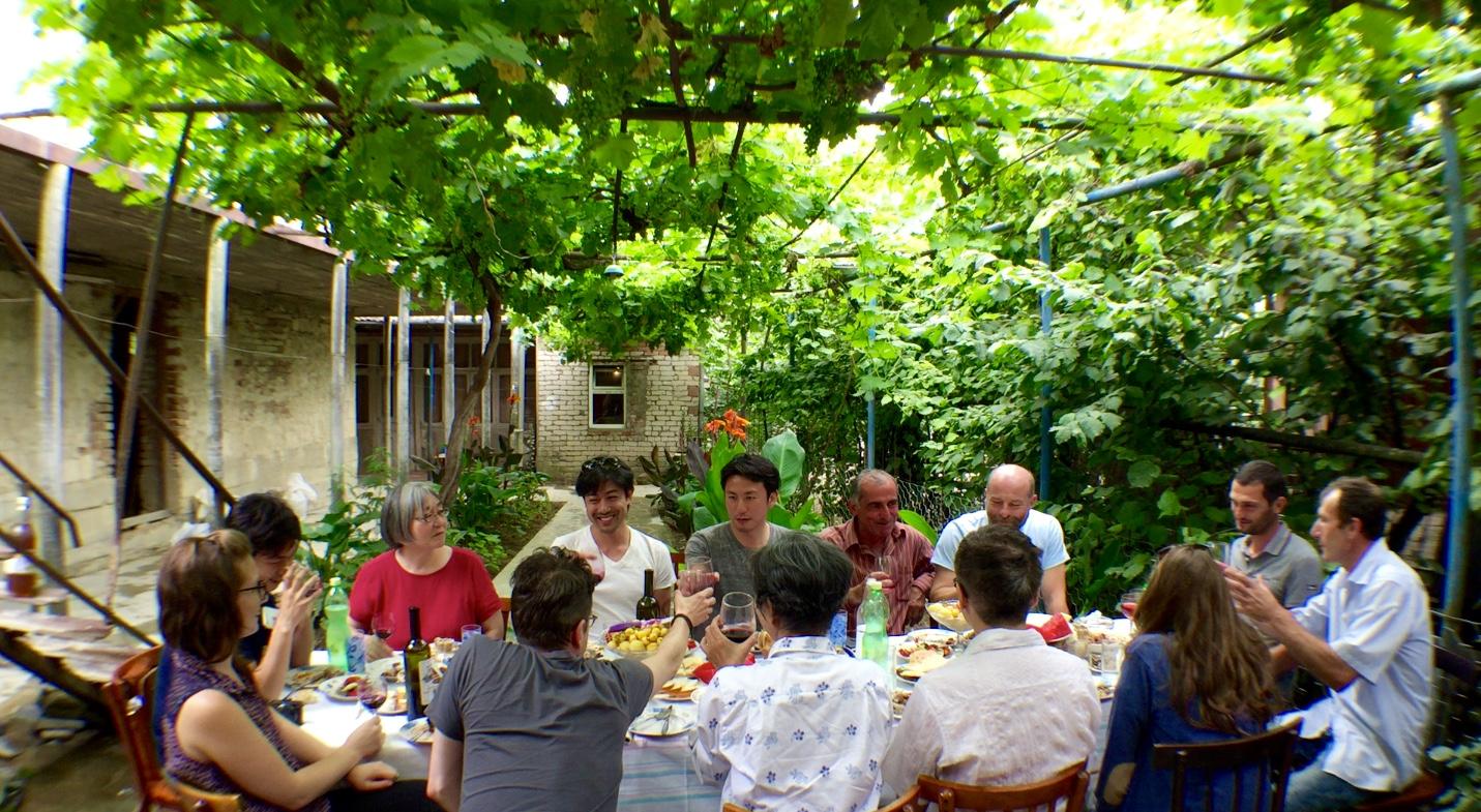 Lunch Supra @ Makaridze Bros