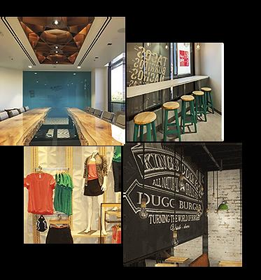 Rush Creative Studio, Interior Design