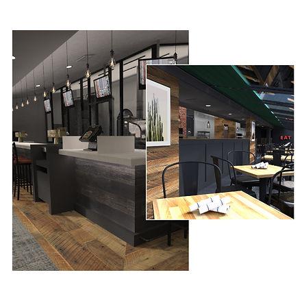 US Taco Co, Interior Design