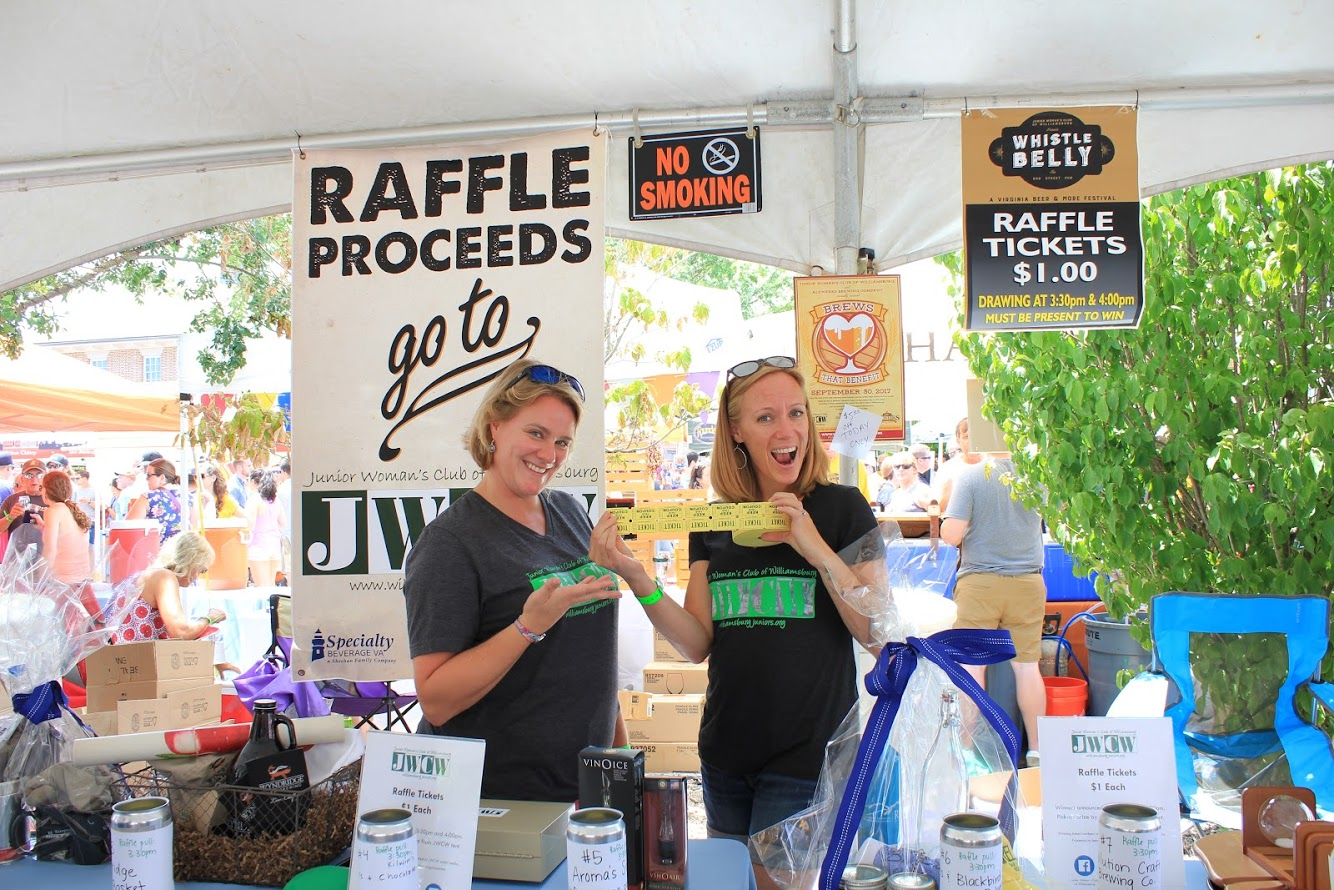 Whistle Belly raffle