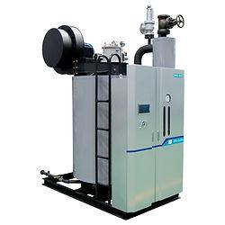 Промышленный скоростной вертикальный водотрубный парогенератор Daeyeol Boiler модель DRH без  экономайзера производительность 500 - 4 000 кг/ч