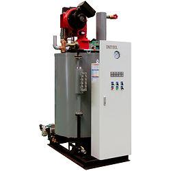 Промышленный скоростной вертикальный водотрубный парогенератор Daeyeol Boiler модель SAJ производительность 100 - 500 кг/ч