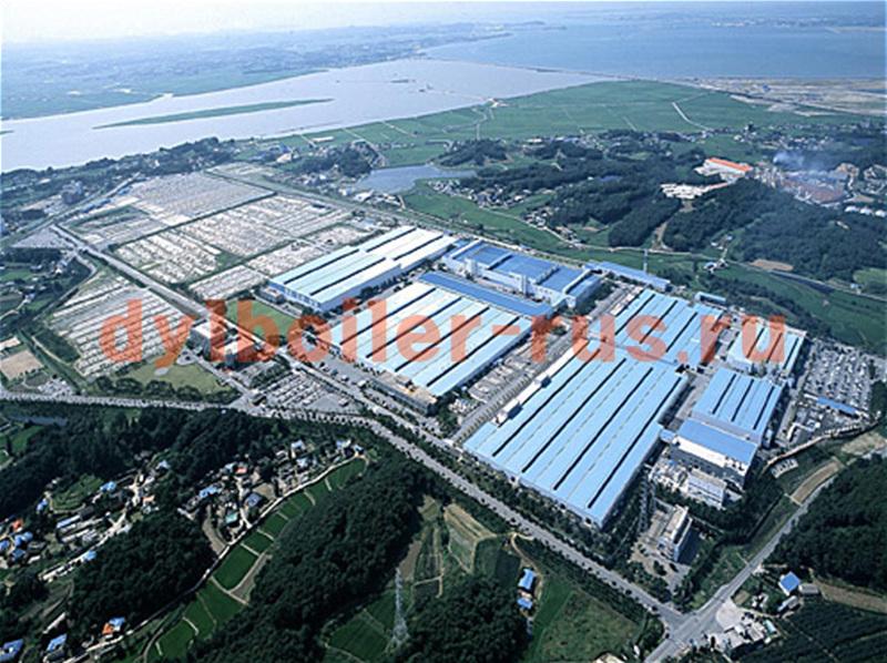 Завод Hyundai Motors в Асане