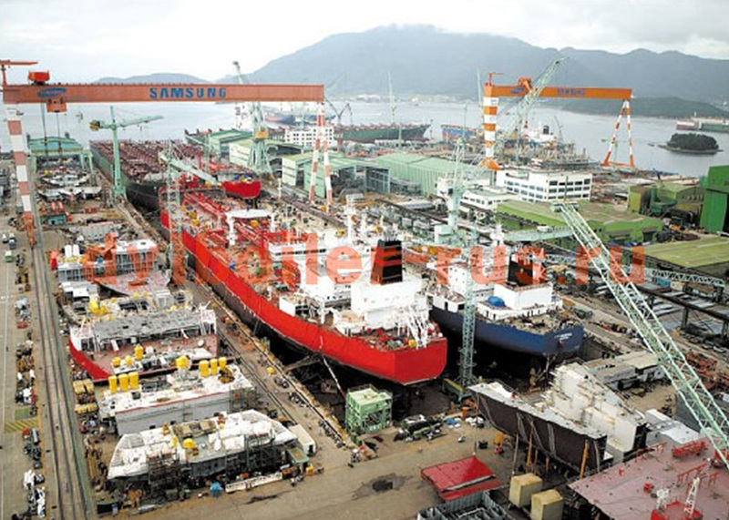 Судостроительный завод Samsung Indus