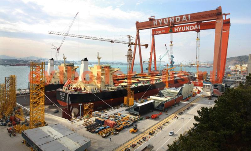 Судостроительный завод Hyundai