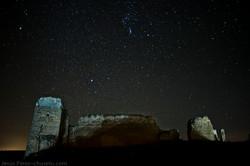 Castillo de Zorita de noche