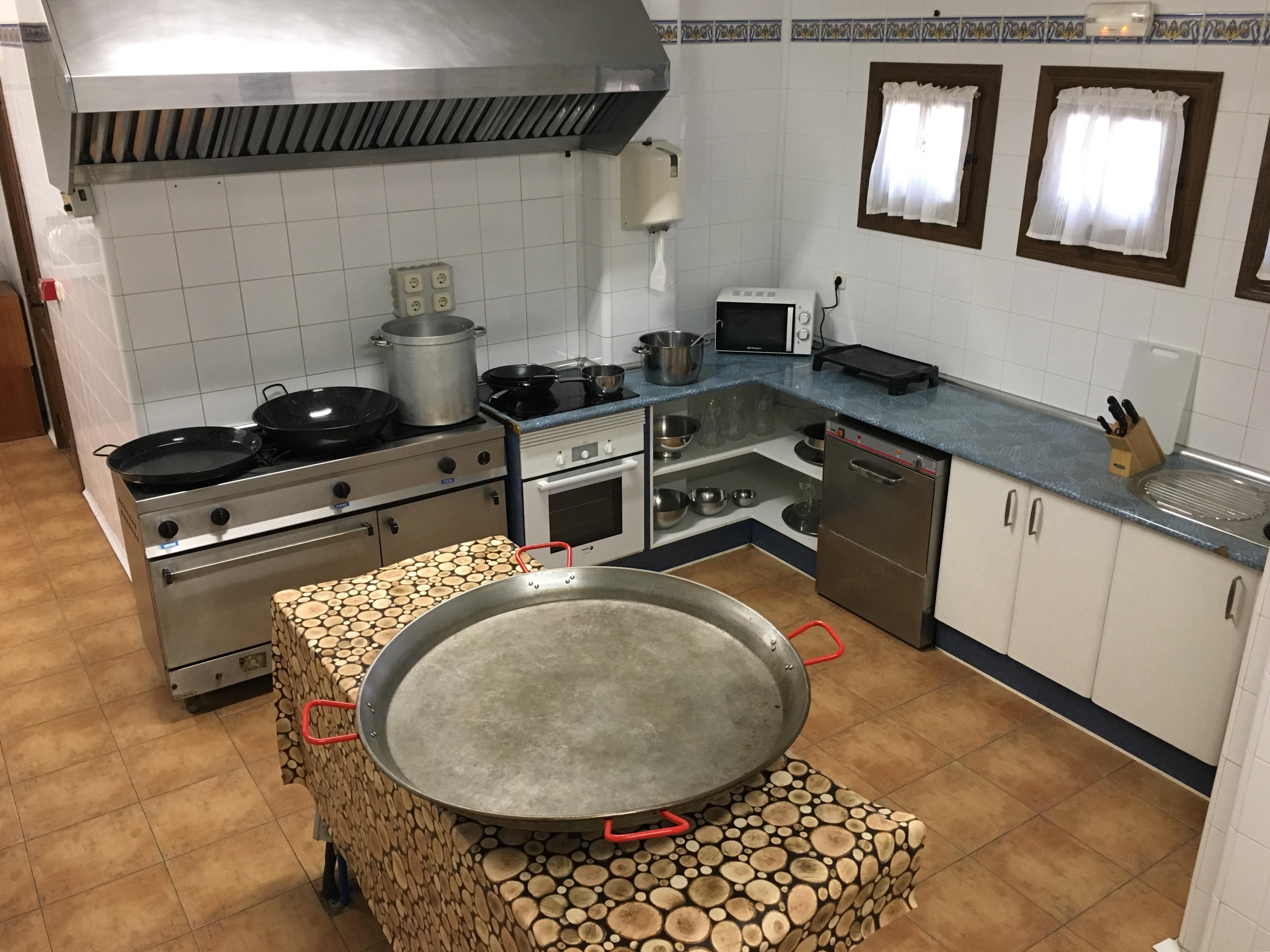 Cocina de La Posada, totalmente equipada
