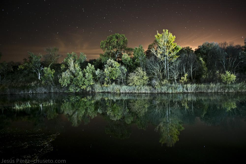 Río_Tajo_de_noche