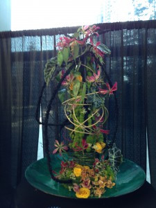 Winner of the floral competition