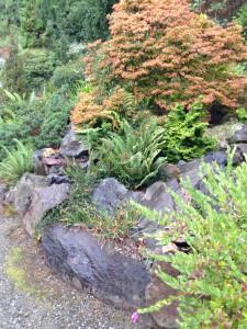 Granite rockery