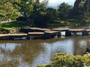 Stone bridge - Kenrokuen Garden
