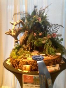 winning floral arrangement