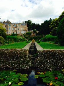 Water feature at Hestercombe