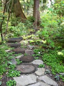 Cedar rounds path