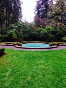 Pool at Lakewold Garden