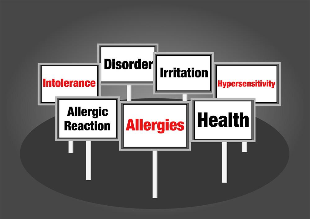 Allergies signs