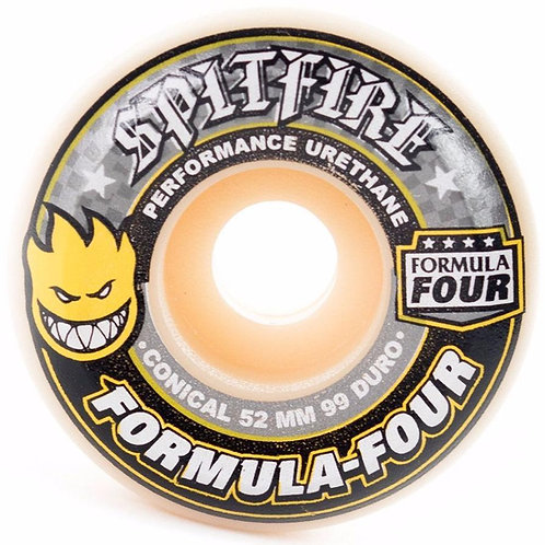 Spitfire - FormulaFour ConicalYellow 53mm