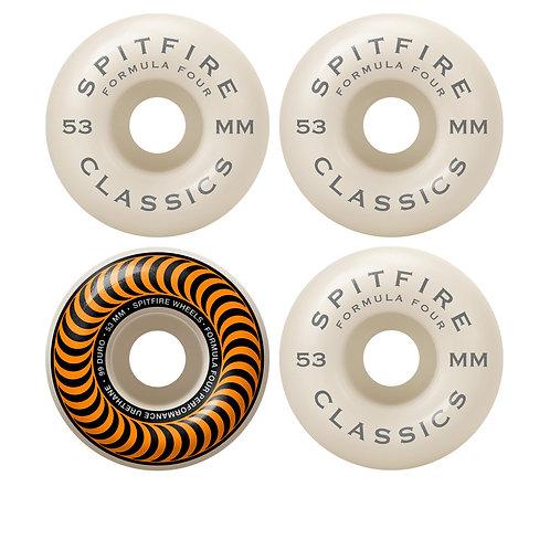 Spitfire - FormulaFour ClassicsOrange 53mm