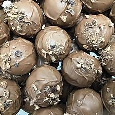 Mokka-mello lys chokolade (pr. 100 gr.)