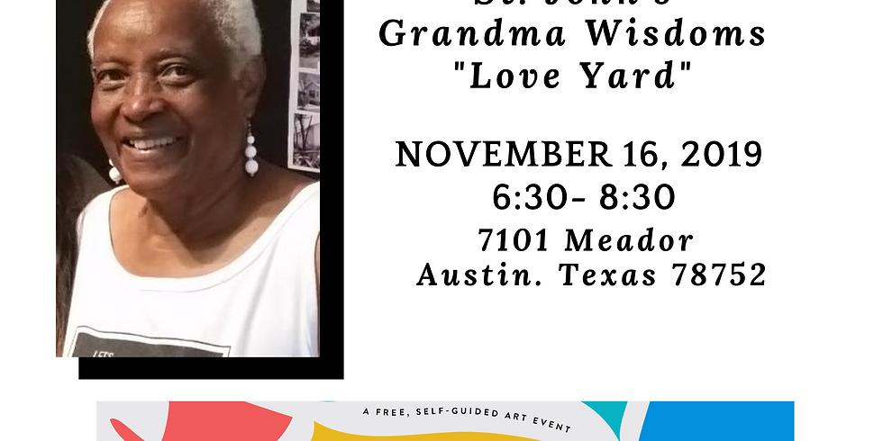 "Thelma ""Grandma Wisdom"" Love Yard Poetry on the Porch"