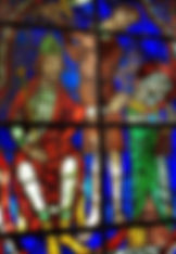 Vitrail Histoire du Martyre de Saint Denis, Chartres