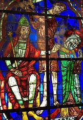Vitrail du Martyre de Saint Denis