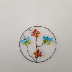 Attrape-rêves Les papillons