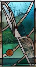 Restauration du vitrail finie