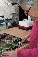 Hélène Braud verrier vitrailliste