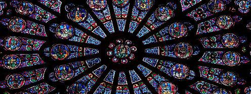 Rosace Notre Dame de Paris