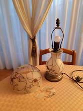 Lampe avant restauration