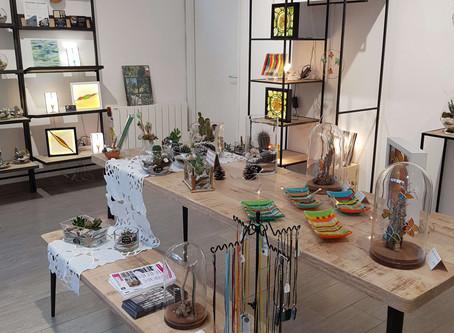Au coeur du vitrail à la boutique éphémère de Joinville-le-Pont