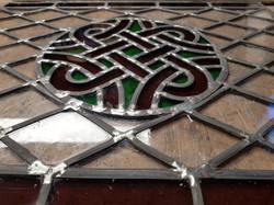 Vitrail traditionnel celtique