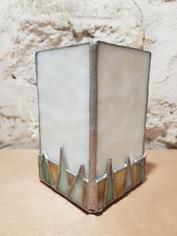 Lampe vitrail tiffany champs de blé