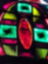 Détail vitrail Mauméjean à Ouessant