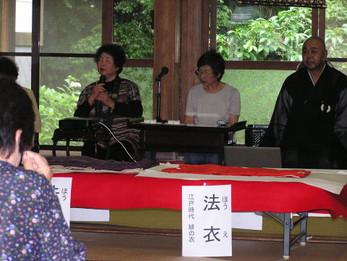 平成22年度花園会女性部総会並びに献茶会