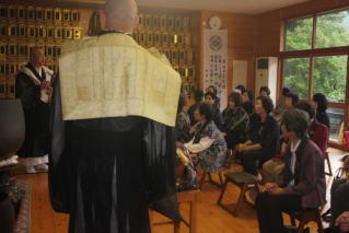 平成26年献茶会と花園会女性部総会