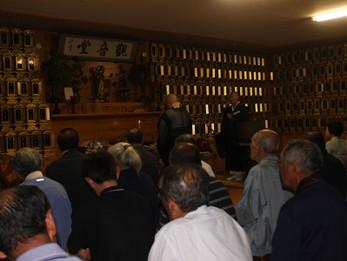 平成24年献茶会並びに花園会世話人総会