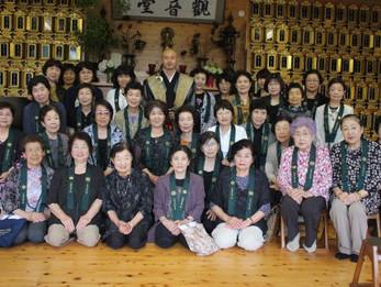 平成27年度花園会女性部総会と献茶会