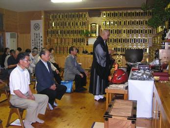 平成22年度花園会世話人総会と献茶会