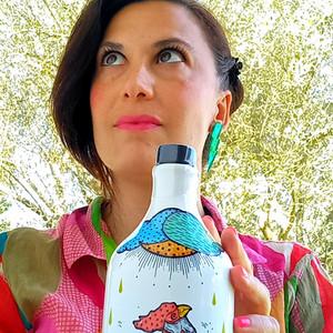 selfportrait with Frantoio Muraglia oil