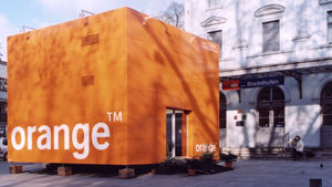 brand experience project orange cube