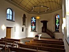 Codes Lite, Beratung, Lichtplanung, Engineering, Mawa-Design, Bubble Lamps, Reformierte Kirche